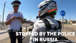 [Eps. 94] STOPPED BY THE POLICE in Russia - Royal Enfield Himalayan BS4