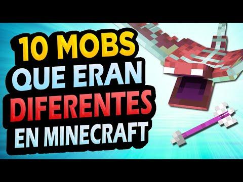 ✅ 10 Mobs que Cambiaron Mucho en Minecraft!!!