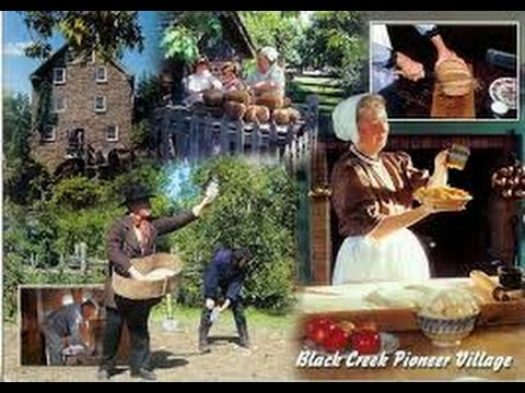 VISITor in Black Creek Pioneer Village Toronto