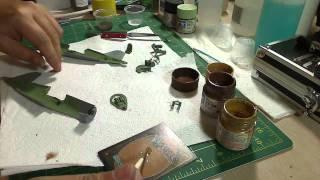 Building a Corsair: Tamiya 1/48 - Part 3c: Finishing the Cockpit