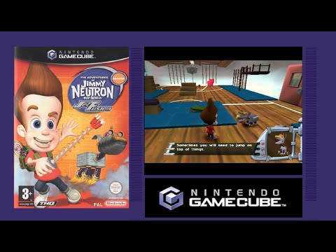 THE ADVENTURES OF JIMMY NEUTRON BOY GENIUS JET FUSION - GameCube Game Review