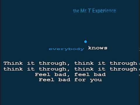Karaoke Punk - Mr T Experience - Kenny Smokes Cloves