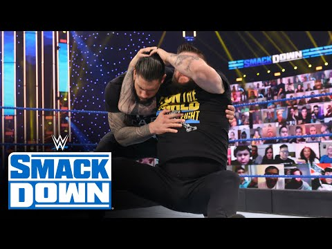 Kevin Owens attacks Roman Reigns before Edge reveals his 'Mania decision: SmackDown, Feb. 5, 2021