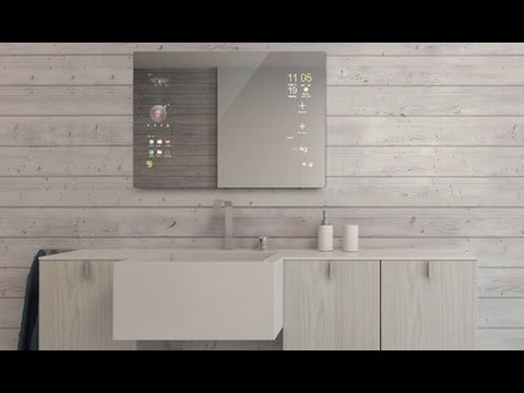 Android Bathroom Smart Mirror by Mues tec Owatis InnovativTV   YouTube Android Bathroom Smart Mirror by Mues tec Owatis InnovativTV