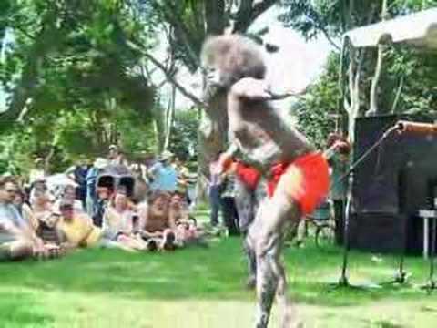 Australian Aboriginal Tribe Dancers