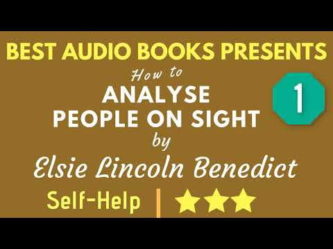 How To Analyse People On Sight Chapter 1 by Elsie Lincoln Benedict Mp3