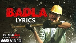 Divine - Badla LYRICS / Lyric Video l #GullyGang