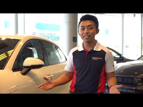 Porsche Brunei   New Macan in White Review