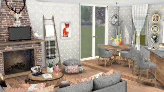 THE SIMS 4: ANIMAL LOVERS APARTMENT + CC LINKS