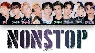 Gambar cover (HAN/ROM/ENG) NCT 127 - NONSTOP (Color Coded Lyrics)