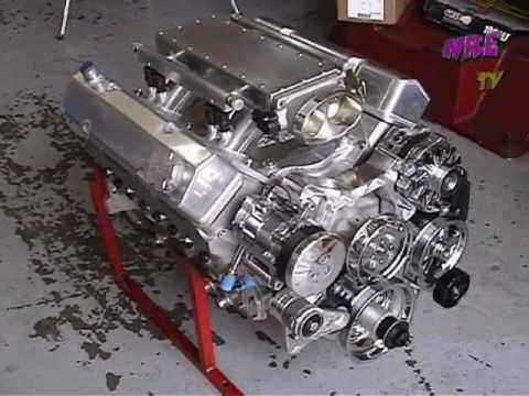 Roaring All Aluminum 427 Na Sbc Fab Crate Motor 635 Hp Nelson Racing Engines Nre Youtube