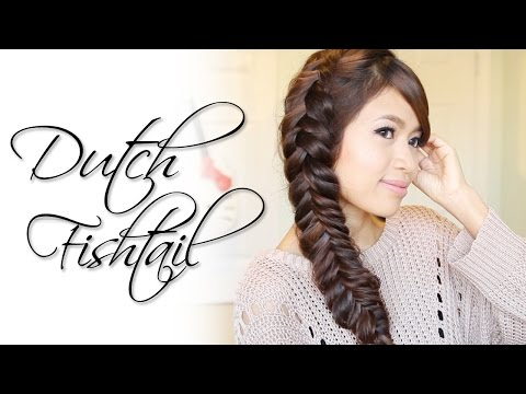 Dutch Fishtail Braid Hairstyle | Hair Tutorial