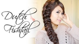 Dutch Fishtail Braid Hairstyle | Hair Tutorial Thumbnail