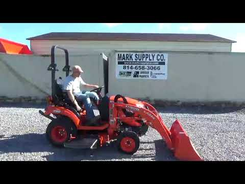 2018 Kubota BX2380 Sub Compact Tractor Loader Belly Mower For Sale Mark  Supply Co
