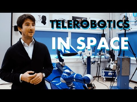The Future of Remote Work in Space: Telerobotics from ESA