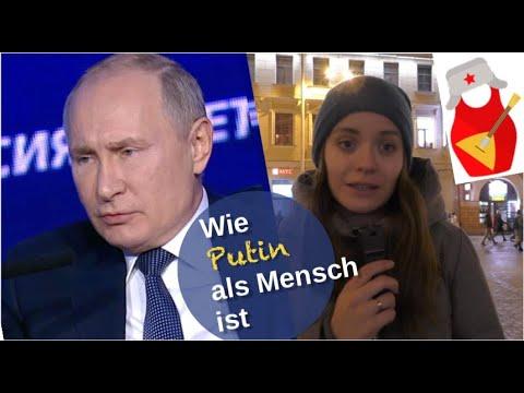 Wie Putin als Mensch ist