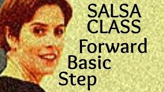 Salsa Basic Forward Step from Salsa class for beginners 2/22
