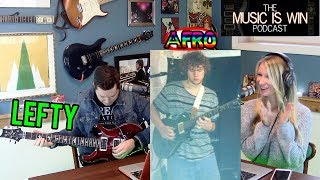 Guitar or Amp for $750, Playing Guitar Lefty, & My Afro – The Music is Win Podcast | Ep. 9