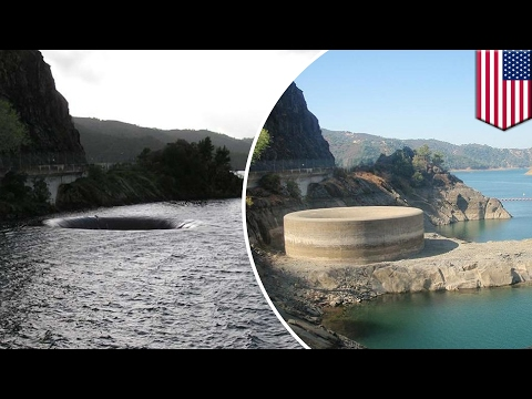 Thumbnail: Lake Berryessa: Glory Hole spillway in center of attention as reservoir reaches capacity - TomoNews