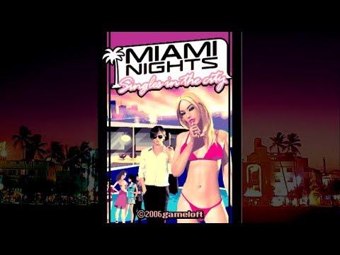Miami Nights: Singles In The City Java Игра - Полное прохождение. Ночи Майами