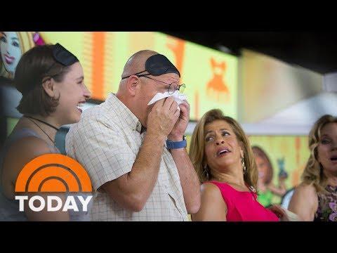 Ambush Makeover Bring Husband To Tears   TODAY