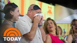 Ambush Makeover Bring Husband To Tears | TODAY