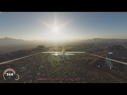 The Crew 2 - Airplane Coast To Coast - LAX To JFK (Los Angeles To New York Airport)