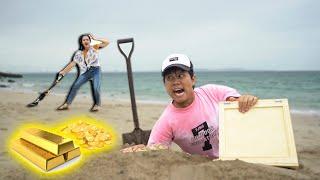 แข่งกันหาสมิบัติ! ที่ชายหาด