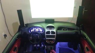 Simulador cockpit G27 + PS3