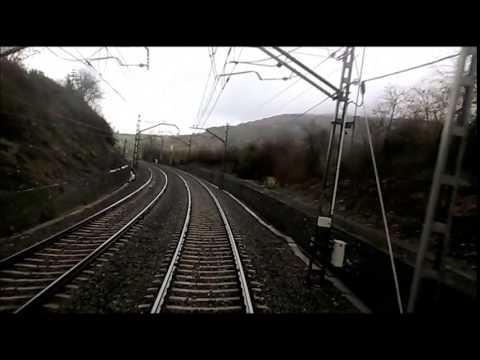 Rail View train Intercity Bilbao Miranda de Ebro