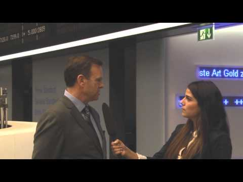Interview with Tony Ker, CEO of Ridgeline Energy Services, at the Frankfurt Stock Exchange.