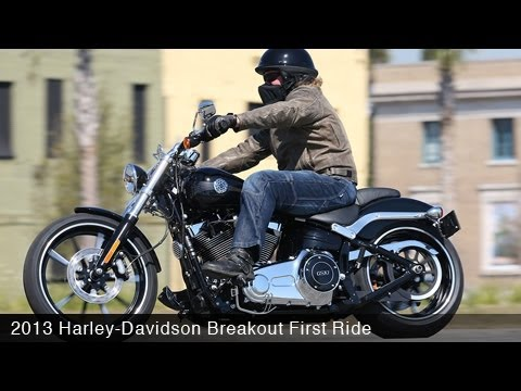 Harley Davidson Breakout Test Ride Review