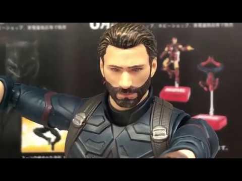Vol.3 S.H.Figuarts - Captain America (Avengers / Infinity War) キャプテン・アメリカ (アベンジャーズ / インフィニティ・ウォー)