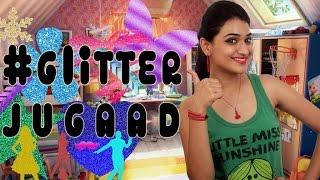 #GlitterJugaad (Christmas Decorations) | #Jugaad | DIY Thumbnail