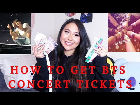 HOW TO GET BTS CONCERT TICKETS (TIPS YOU NEED TO KNOW- IVE GONE TO 9+ SHOWS ) | ShilaBui