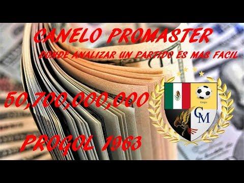 analisis PROGOL 1963 Canelo Promaster