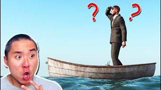 LOST AT SEA! HELP! (Raft)