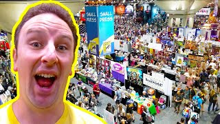 San Diego Comic Con 2018 Exhibitor Hall LIVE