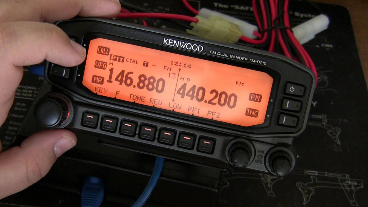 kenwood tm d710a basic setup programming repeaters youtube rh youtube com kenwood tm d710a manual pdf kenwood tm d710 manual download