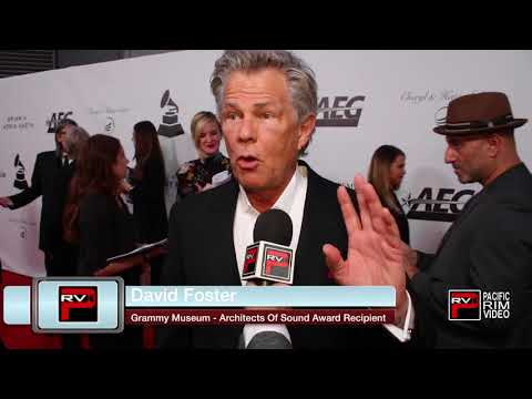 David Foster reacts to his Grammy Architects of Sounds Award | Pia Toscano experiences Magic