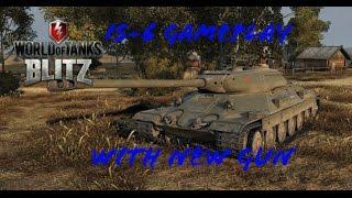 World of Tanks Blitz - IS-6's New Gun