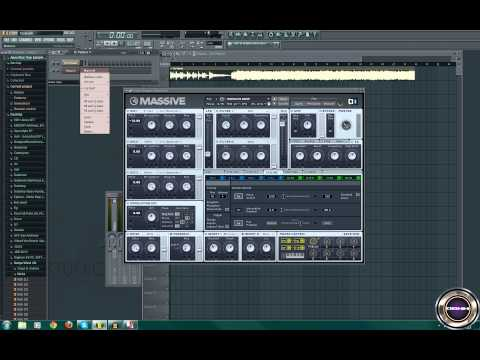 MASSIVE Tutorial:Dropping Sound (Growl)[Dubstep]