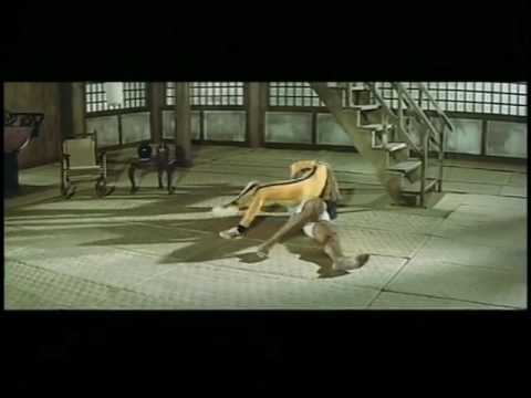 Bruce Lee and Kareem Abdul-Jabbar fight each other to the death.