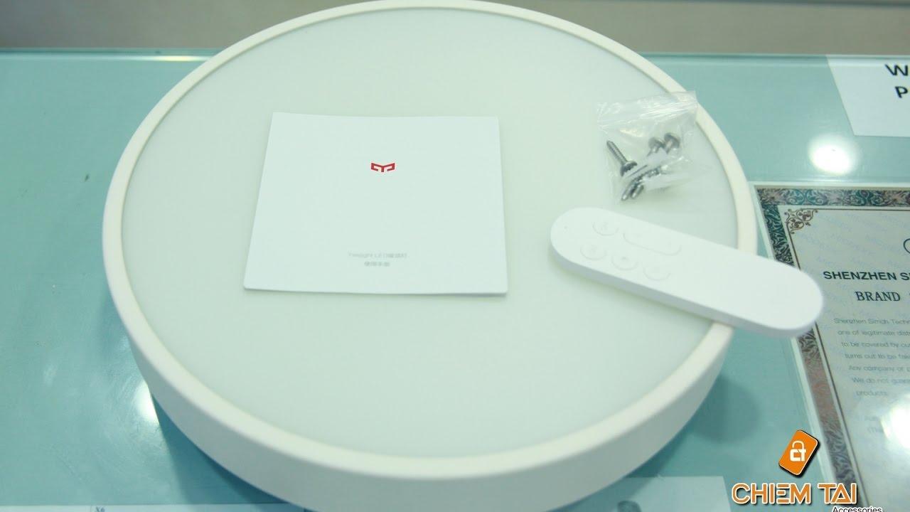 [Chiếm Tài Mobile] – Giới thiệu và Hướng dẫn sử dụng Đèn ốp trần Thông minh Yeelight Led Xiaomi