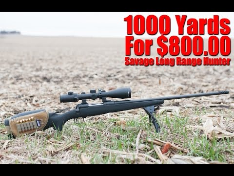 Savage 6.5 Creedmoor  Long Range Hunter Review: 1000 Yards On A Budget