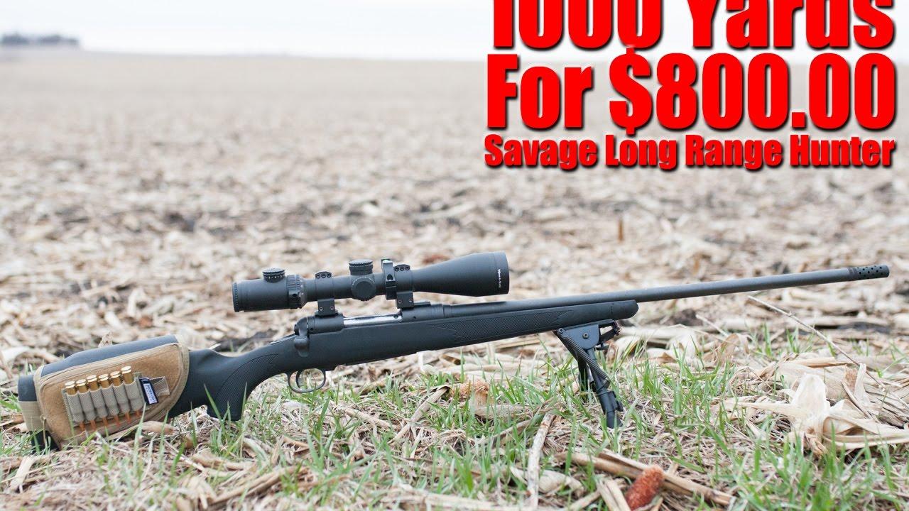 Savage 6 5 Creedmoor Long Range Hunter Review: 1000 Yards On A Budget
