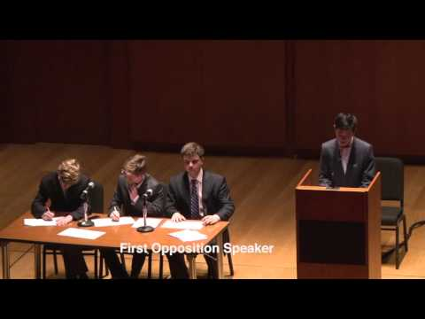 2016 ESU MSPDP Championship Debate