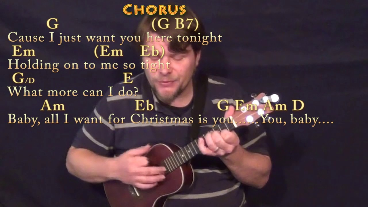 All i want for christmas is you mariah carey ukulele cover all i want for christmas is you mariah carey ukulele cover lesson with chordslyrics hexwebz Image collections