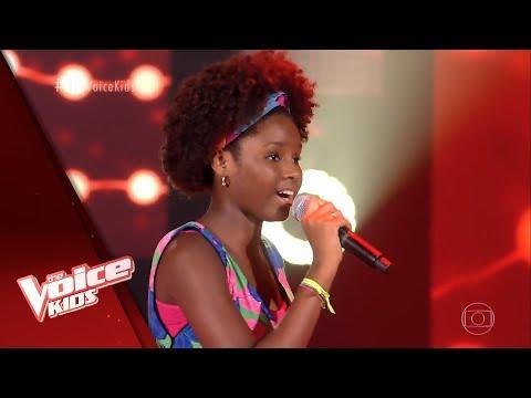 Milly Vitória Canta 'Sangrando' Nas Audições às Cegas - The Voice Kids Brasil | 5ª Temporada