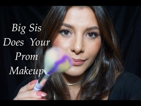 Big Sis Does Your Prom Makeup Roleplay | Lily Whispers ASMR